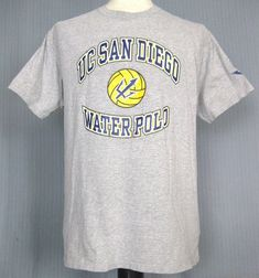 6c732480 UC San Diego Titans Water Polo Adult Large T-Shirt (L Next NCAA National  Champs) #GildanUltraCotton #BasicTee