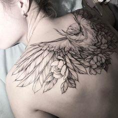 Olga Koroleva  owl tattoo  #nature #tattoos