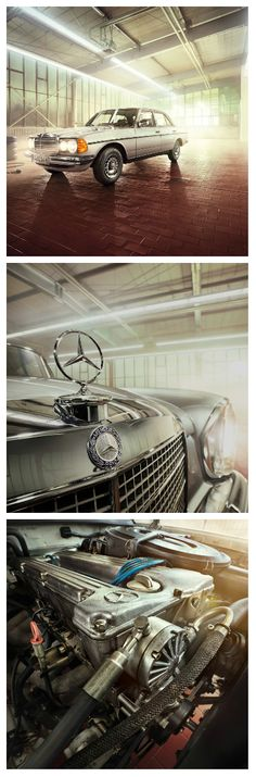 A little elbow grease and love go a long way when keeping up a Mercedes-Benz classic.