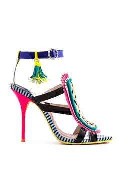 Sophia Webster Fall Lookbook - Colorful, Cute Shoes