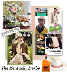 """""""Derby Daze"""" by renee-switzer ❤ liked on Polyvore"""