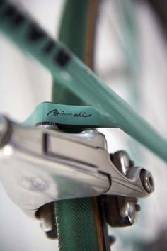Bianchi and Campagnolo Delta