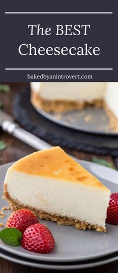 Learn how to make the best cheesecake with this melt in your mouth recipe! Follow these simple tips to ensure your cheesecake turns out light, creamy, and free of cracks every single time.