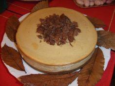 Tarta de queso y marron glacé para Navidad. Ver la receta http://www.mis-recetas.org/recetas/show/39706-tarta-de-queso-y-marron-glace-para-navidad