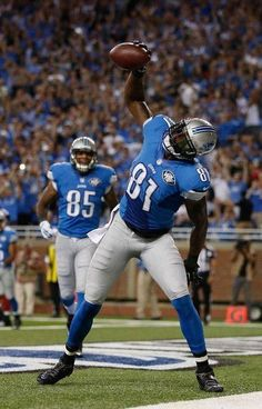 Calvin Johnson, Detroit Lions