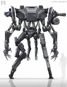 concept robots: Robots by Ben Mauro
