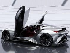 Infiniti Vision GT Concept Unveiled: New Supercar on the Horizon?
