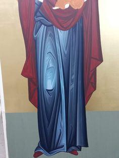 Byzantine Icons, Byzantine Art, Icon Clothing, Paint Icon, Holy Family, Orthodox Icons, Polish Pottery, Religious Art, Virgin Mary