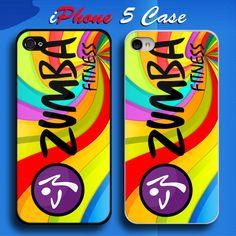 Zumba Fitness Logo Custom iPhone 5 Case Cover