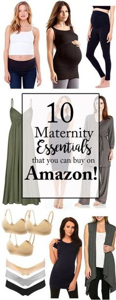 Top 10 Maternity Essentials that you can buy on Amazon!