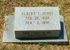Albert F. Jones brother was  Abraham W. Jones father of Jesse J. Jones