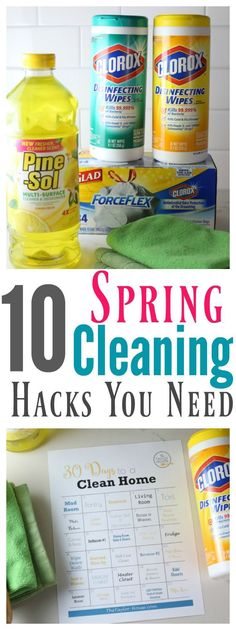 10 Spring Cleaning Hacks You Need to Know