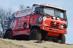 Instaforex Loprais Team - rebranding of the complete fleet, design and wrapping, design for racing car Tatra for Rally Dakar 2013 including wrap. Car Tuning, Cool Bikes, Concept Cars, Motor Car, Race Cars, 4x4, Automobile, Racing, Trucks