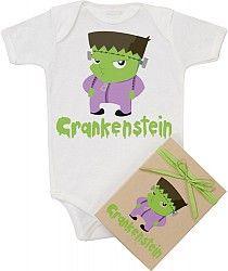 Organic Crankenstein Bodysuit  http://www.stylishmaternityteeshirts.com/item_186/Organic-Crankenstein-Bodysuit.htm