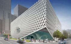 """➸Broad Museum, Los Angeles, Currently slated to open in the autumn, 2015 after delays to building work in 2014, this striking, """"vault and veil"""" concept building will house contemporary artwork from the private collection of the billionaires Eli and Edythe Broad.➸"""