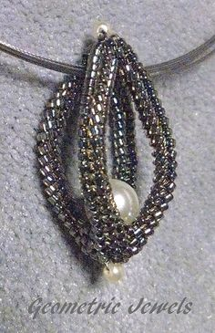 peyote beaded tube - Google Search