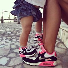 Mommy And Me Matching Nike Shoes
