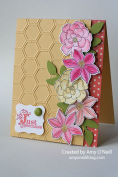 Stampin' Up! Card  by Amy O'Neill at Amy's Paper Crafts: A Bright Secret Garden #secret_garden_stampin_up