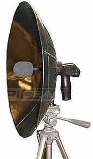 Detect ear parabolic dish