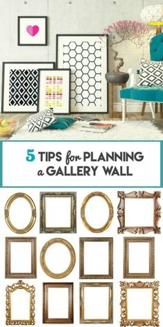 I totally want to do a gallery wall....found these GREAT TIPS!