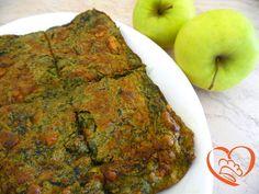 Frittata con spinaci http://www.cuocaperpassione.it/ricetta/cb2a1f4c-9f72-6375-b10c-ff0000780917/Frittata_con_spinaci
