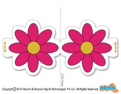 Flower - Pencil Toppers for Kids Fun Arts And Crafts, Crafts For Kids, Pencil Toppers, Sensory Activities, Amazing Flowers, Flower Making, Pens, Free Printables, Cool Art