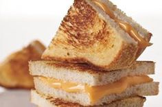 America's Favorite Grilled Cheese Sandwich - America's Favorite Grilled Cheese Sandwich is also its easiest and most basic—nothing but bread, butter and cheese, grilled to golden perfection.