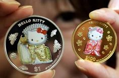 Hello Kitty currency? Whoa!!
