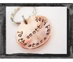 Groomsmen Gift   Personalized  Keyring  Custom Hand by LillyEllen, $16.00