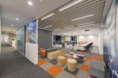 Trelleborg Office Layout- space iconic yet simple - The Architects Diary