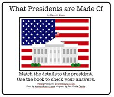 Classroom Freebies: What Presidents Are Made Of