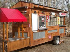 CUSTOM CONCESSION TRAILER,  SUPPLIES, EQUIPMENT. For Sale