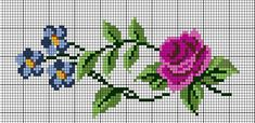 This Pin was discovered by Aur Cross Stitch Heart, Beaded Cross Stitch, Cross Stitch Borders, Cross Stitch Flowers, Cross Stitch Designs, Cross Stitching, Cross Stitch Embroidery, Embroidery Patterns, Hand Embroidery