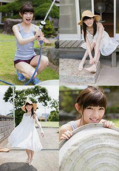 AKB48 Nana Okada Natsu Shojo Hajimemasu on UTB Magazine - JIPX(Japan Idol Paradise X)