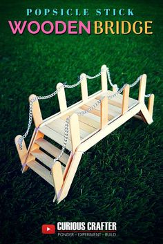 New garden diy furniture popsicle sticks 55 Ideas, . New garden diy furniture popsicle sticks can find Sticks and more on our . Popsicle Bridge, Popsicle Stick Bridges, Popsicle Stick Crafts House, Popsicle Sticks, Craft Stick Crafts, Crafts For Kids, Sticks Furniture, Diy Furniture, Garden Furniture