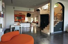 Concrete Floors in Homes | Polished Concrete for the Home - Concrete Surfaces, Polishing ...