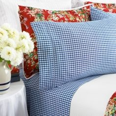Gingham sheets & florals!
