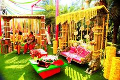 Indian wedding decor ideas. Mandap design