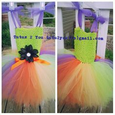 Tutu dress created by Angie @ Tutus 2 You. I create tutus, tutu dresses, hair bows, hair bow holders and tulle wreaths!  I am your tulle lady!  Come find me on facebook as I do often giveaways.  Follow me on pinterest and twitter :)