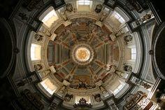 The Saint Louis baroque church in Sevilla (Spain).