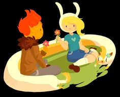 Adventure Time : Fionna and Flame Prince
