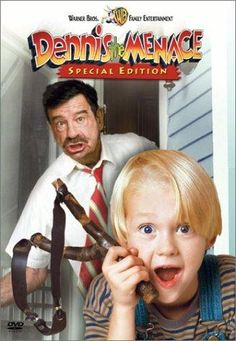 Directed by Nick Castle.  With Walter Matthau, Mason Gamble, Joan Plowright, Christopher Lloyd. When his parents have to go out of town, Dennis stays with Mr. and Mrs. Wilson. The little menace is driving Mr. Wilson crazy, but Dennis is just trying to be helpful. Even to the thief who's arrived in town.