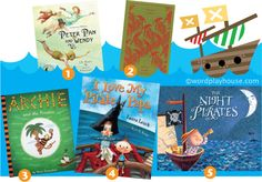 Of pirates and treasured books—the original story of Peter Pan + book suggestions for pirate play inspiration.