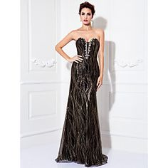 Silhouette:Sheath/Column; Neckline:Sweetheart; Hemline/Train:Floor-length; Embellishments:Beading; Back Details:Zipper; Fabric:Tulle; Fully Lined:Yes; Built-In Bra:Yes; Shown Color:As Picture; Body Shape:Plus Sizes,Misses,Pear,Inverted Triangle,Hourglass,Apple,Petite; Occasion:Military Ball,Formal Evening,Prom; Season:Fall,Spring,Summer; Net Weight:1.5Kg; Shipping Weight:1.98kg; Waist:Natural; Model:Carla; Boning:No