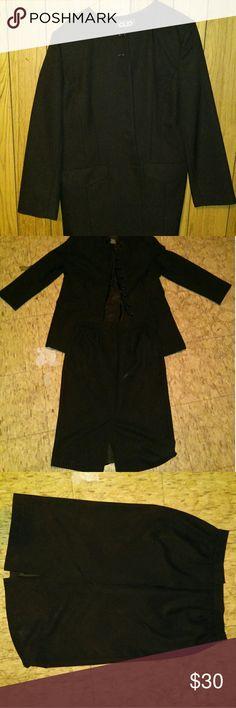 Selling this Skirt Suit on Poshmark! My username is: charlieroger. #shopmycloset #poshmark #fashion #shopping #style #forsale #Dresses & Skirts