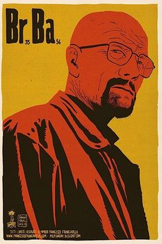 Breaking Bad posters for individual episodes of the serie.