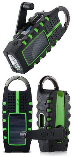 solar radio/flashlight