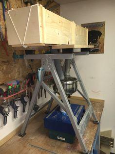 Wood Bending Steam Box Furniture Repair, Furniture Making, Wood Furniture, Furniture Design, Green Woodworking, Woodworking Jigs, Carpentry, Wooden Crafts, Wooden Toys