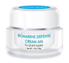 cool Biomarine Defense Cream AM - Best Intensive Facial Day Defense System - Powerful Naturally Derived Marine Ingredients - Anti Aging Treatment System That Targets Wrinkles & Fine Lines - Helps Firm and Restore Skin Texture & Elasticity - Protects Skin from UV Rays - For Dry, Oily, Sensitive Skin. Excellent Skin Tightening & Smoothing Solutions -Effective Skin Care Products For Men & Women - Made in the USA - 100% Satisfaction Guaranteed