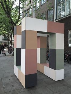 EQUITONE installation at Clerkenwell Design Week, London 2015.